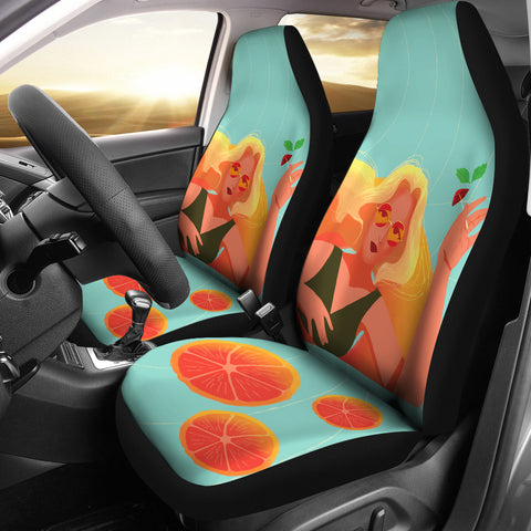 Blonde-Swim-01 Car Seat Covers