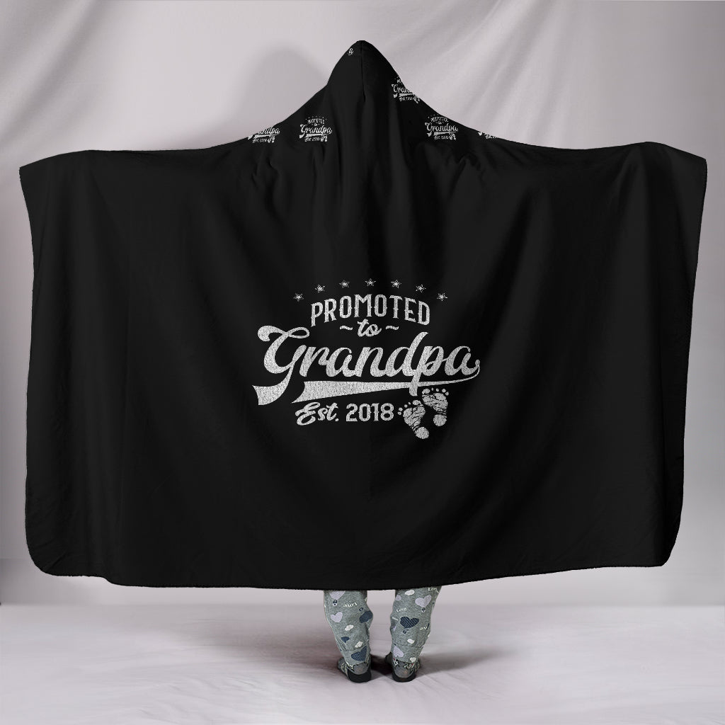 Customised Hoodie Blanket - Grandpa Love
