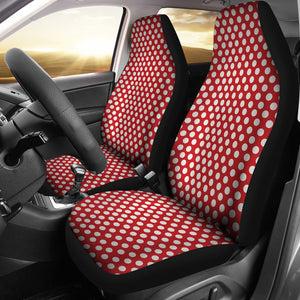 Polka-Dots-Design Car Seat Covers