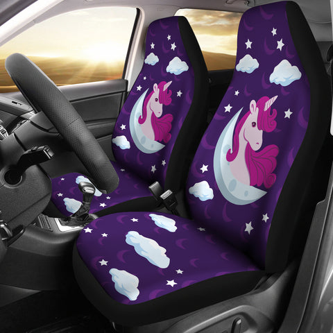 Image of Cute-Unicorn-03 Car Seat Covers