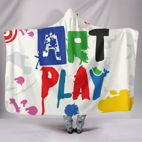 Image of Art-Play-Design Hooded Blanket