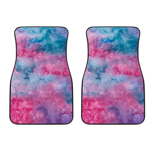 Watercolor Pink Front Car Mats (Set Of 2)