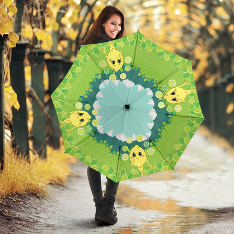 Lemon-World-01 All Over Print Umbrella