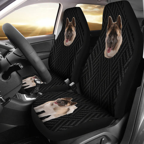 Image of akita Car Seat Cover