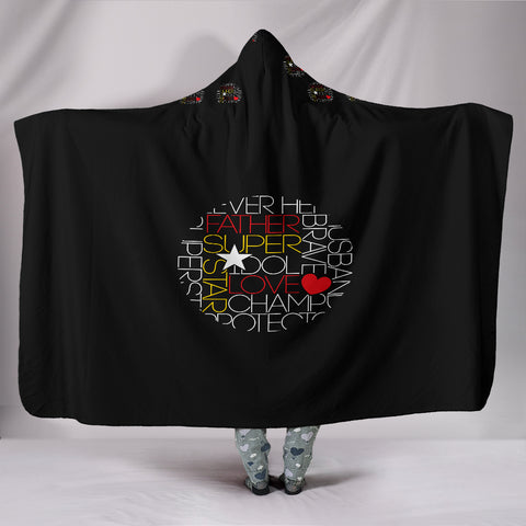 Image of Customised Hoodie Blanket - Dads Love