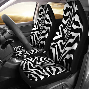 Zebra Print Custom Car Seat Covers