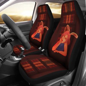 Car Seat Covers Library-Bunny-Girl-01