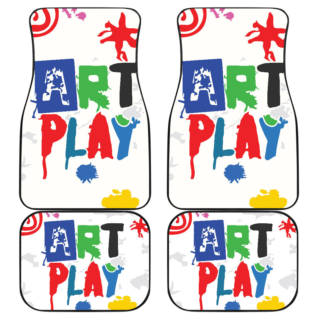 Art-Play-Design Front And Back Car Mats