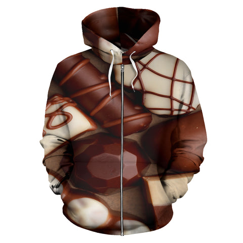 Image of Chocolate Shoppe Zip-Up Hoodie