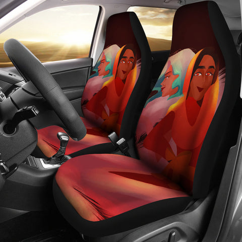 Friends-Girl-01 Car Seat Cover