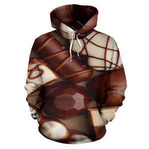 Chocolate Shoppe All Over Print Hoodie