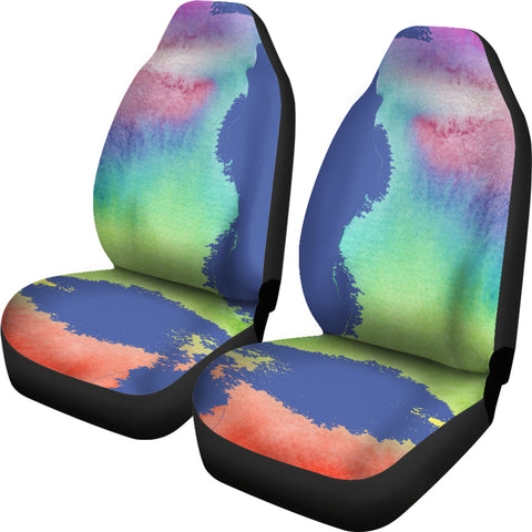 Image of Rainbow Car Seat Covers