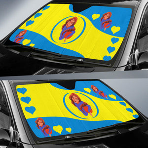 Sport-Club-Girl-01 Yellow and Blue Auto Sun Shades