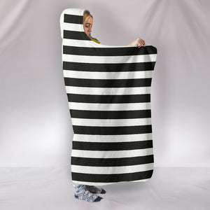Stripes-Design-03 Hooded Blanket