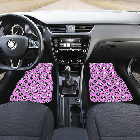 Image of Skulls and Potion Front Car Mats (Set Of 2)