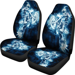Motocross Motorbike Car Seat Covers
