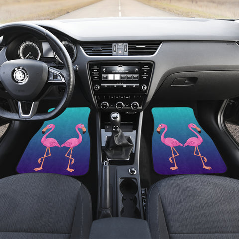 Flamingo Car Floor Mats (Set Of 2)