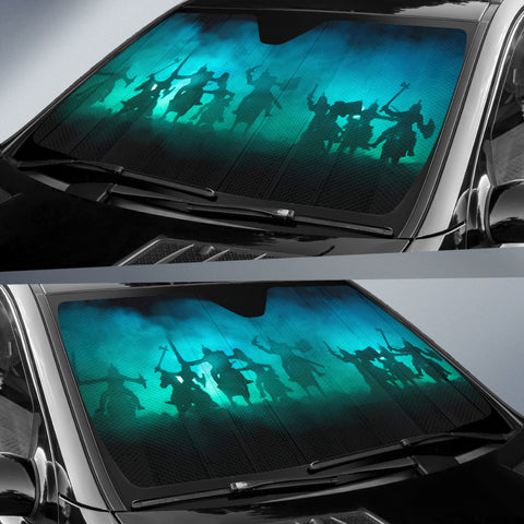 Image of Medieval Battle Scene Sun Shade