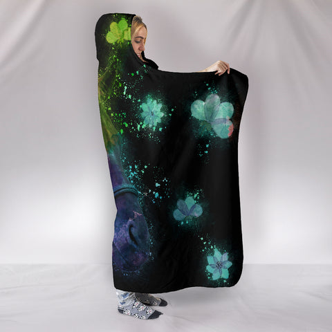 Image of Beautiful Horse Hooded Blanket