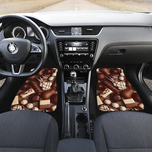 Chocolate Lovers Front Car Mats (Set Of 2)