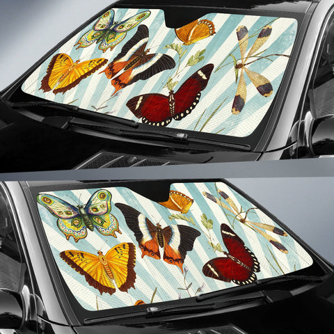 Butterfly Collage Auto Shade