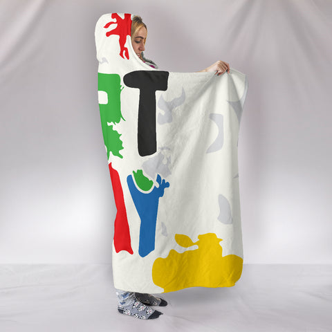 Art-Play-Design Hooded Blanket