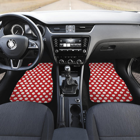 Polka-Dots-Design Car Mats