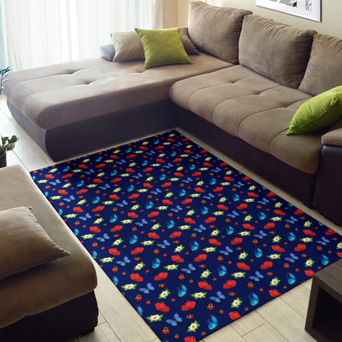 Image of Butterfly Garden Area Rug