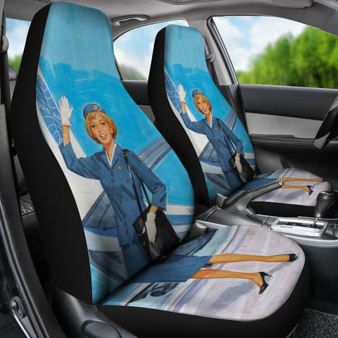 Image of Airline Steward Car Seat Cover