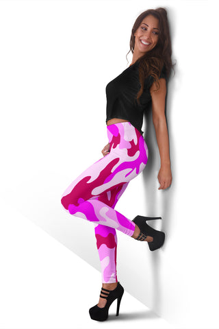 Image of PINK CAMOUFLAGE Leggings