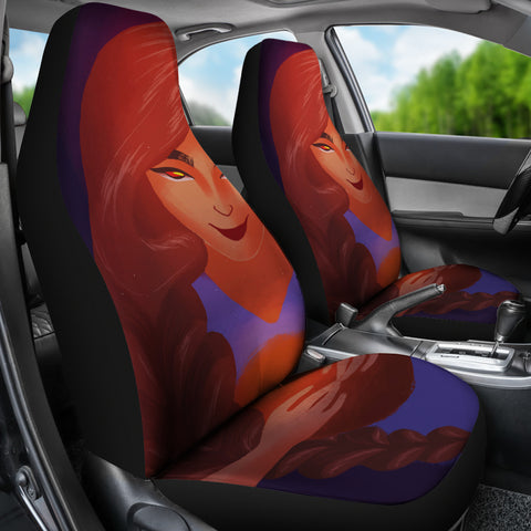 Basketball-Girl-01 Car Seat Covers