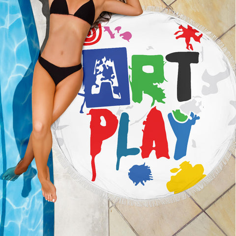 Image of Art-Play-Design Beach Blanket