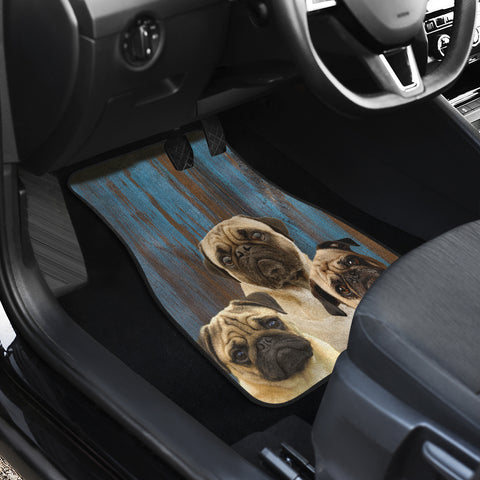 Image of Pugg Auto Front And Back Car Mats (Set of 4)