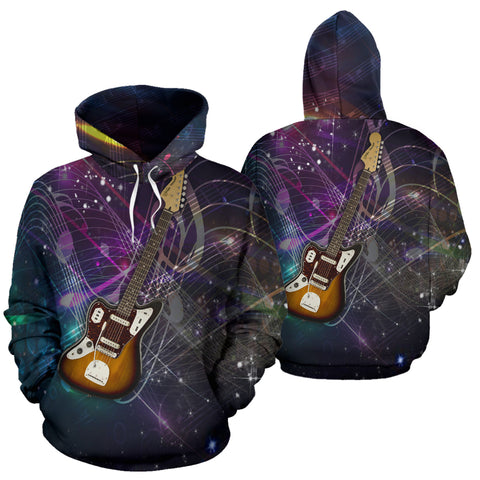 Image of Stunning Guitar Lovers Hoodie