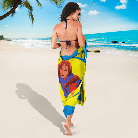 Sport-Club-Girl-01 Yellow and Blue Sarong