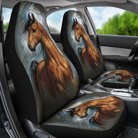 Image of HORSE SPIRIT CAR SEAT COVERS