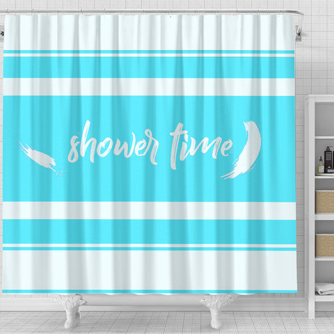 Shower Curtain Shower Time