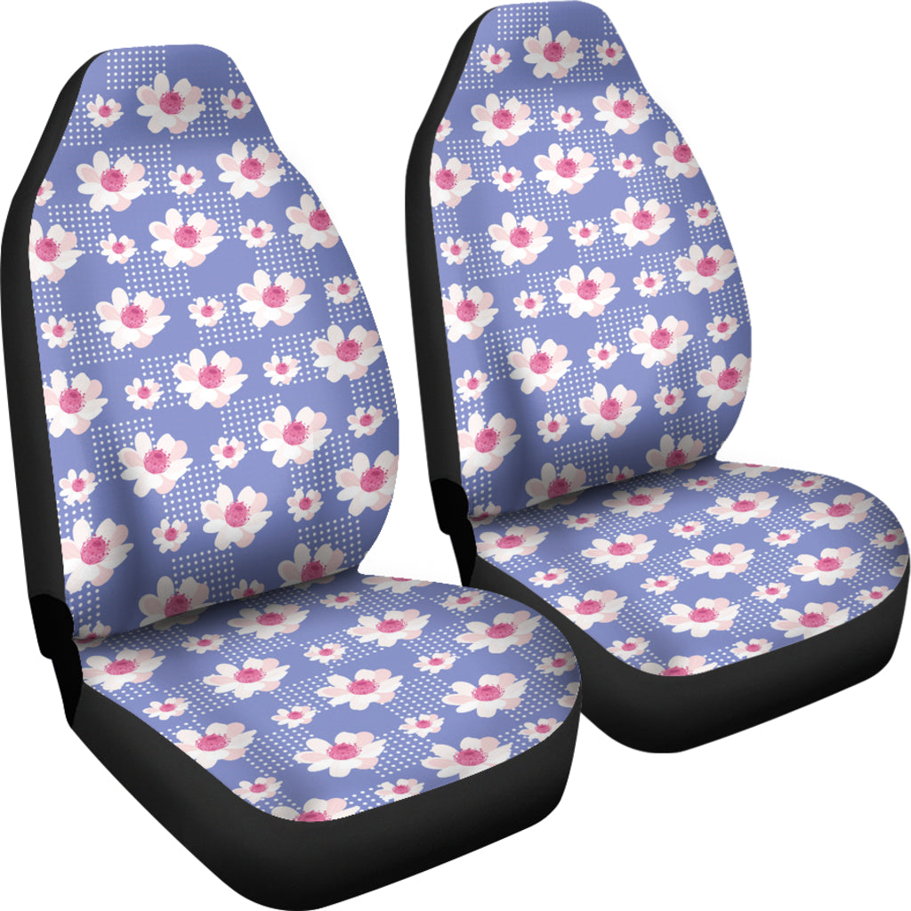 Purple-Flower-01 Car Seat Covers