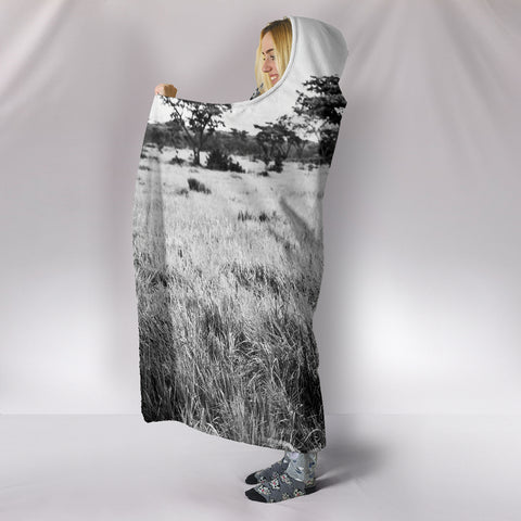 Image of Africa Hooded Blanket