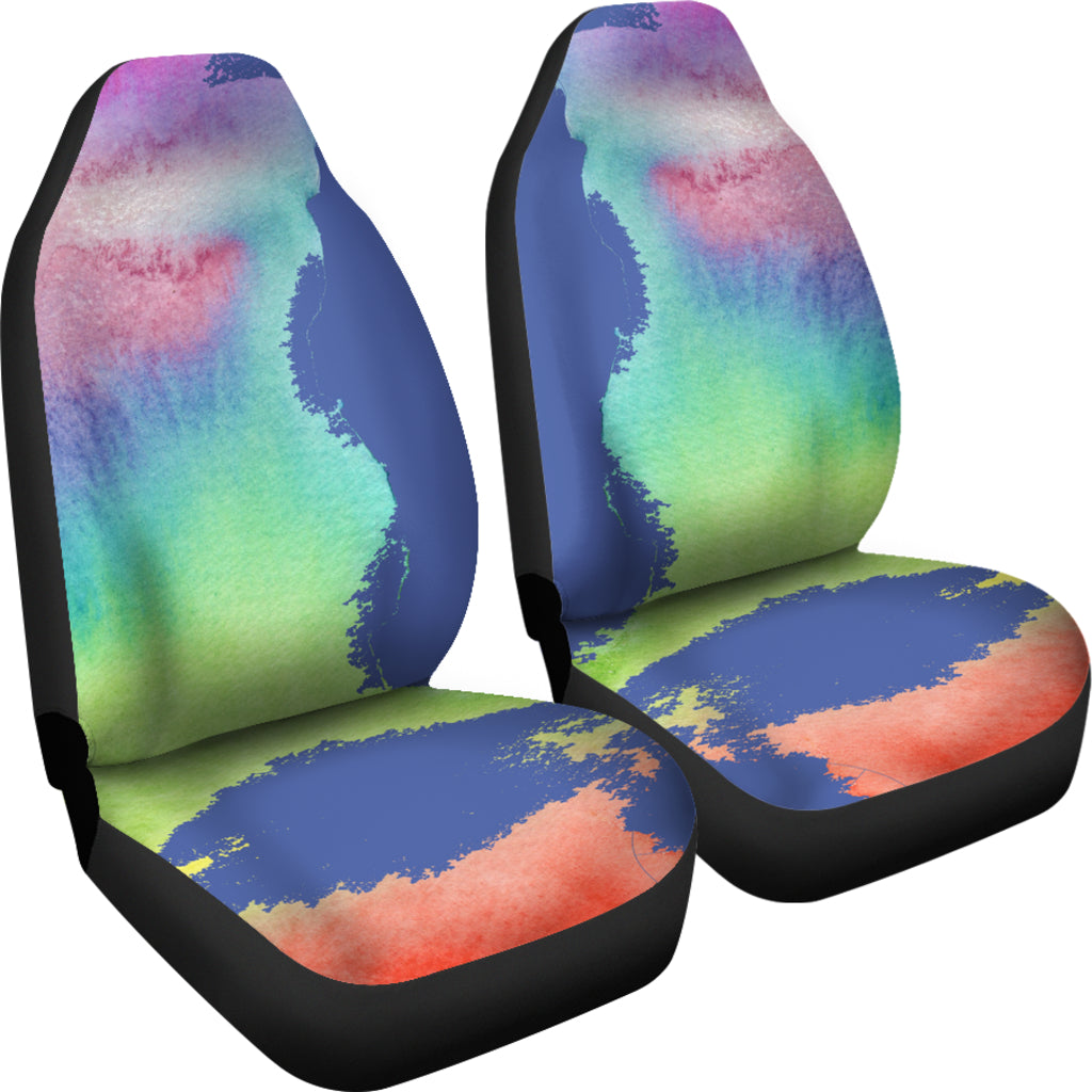 Rainbow Car Seat Covers