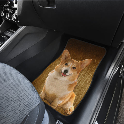 Image of Corgi Auto Front And Back Car Mats (Set of 4)