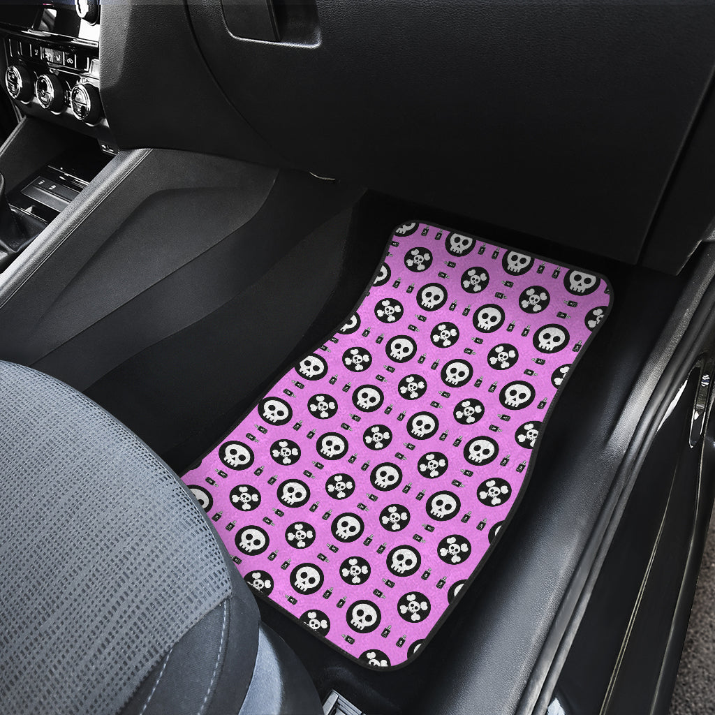 Skulls and Potion Front Car Mats (Set Of 2)