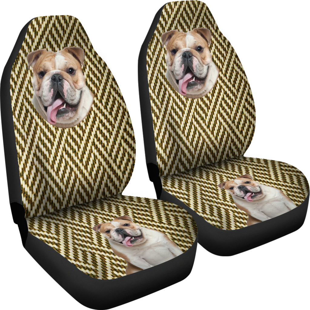Australian bulldog Car Seat Cover