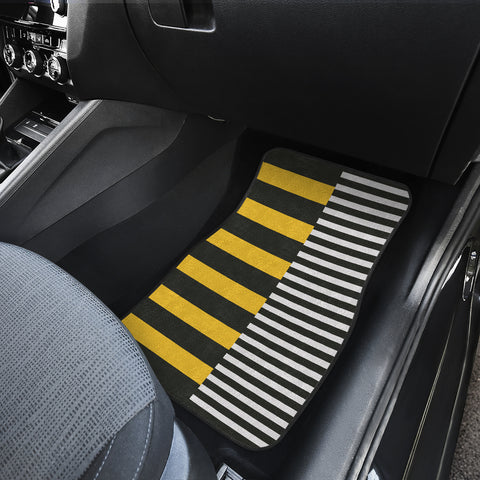 Stripes-Design-01 Car Mats