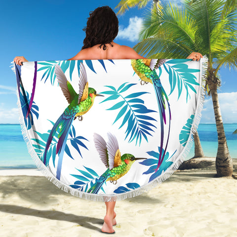 Image of HUMMINGBIRD BEACH BLANKET
