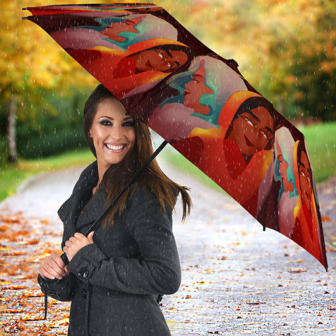 Image of Friends-Girl-01 All Over Print Umbrella