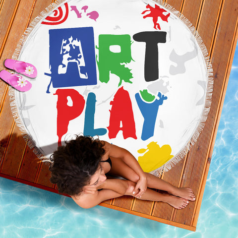 Art-Play-Design Beach Blanket
