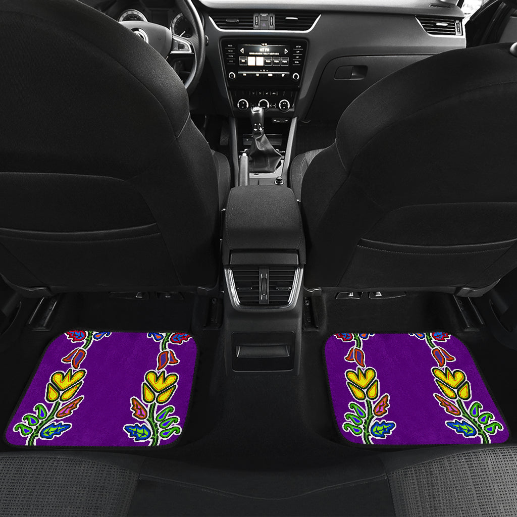 Generations Floral Front And Back Car Mats (Set of 4)