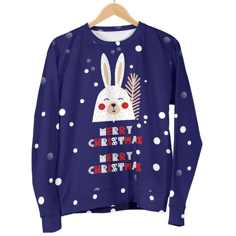 Image of Merry Christmas Bunny Women's Sweater