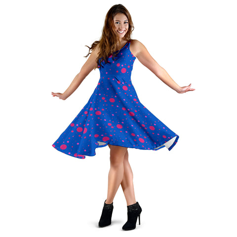 Image of Pink and Blue State of Mind Women's Dress